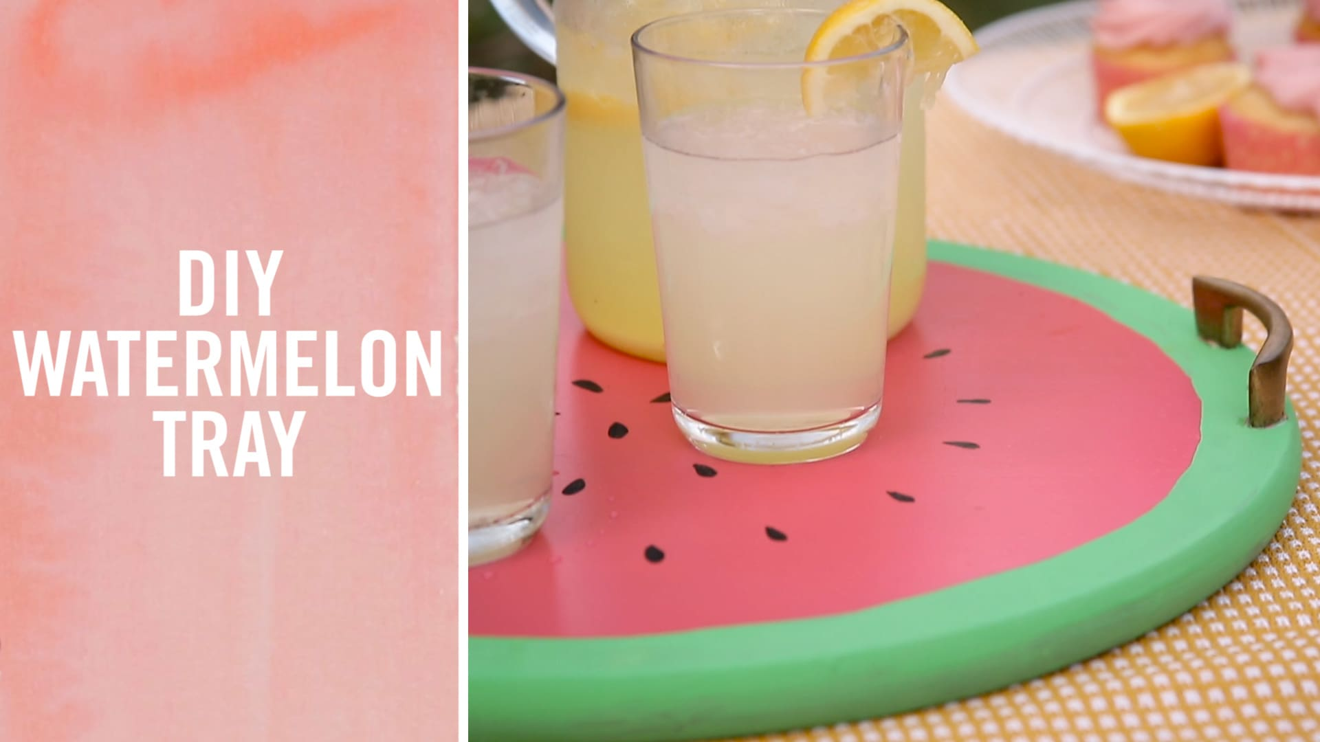 DIY Watermelon Tray | Babble DIYY Lego Kit | Summer Survival Hacks Lego Kit | Summer Survival Hacks