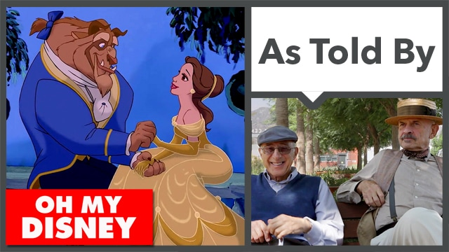 Beauty and the Beast as Told by Grandpas - Oh My Disney