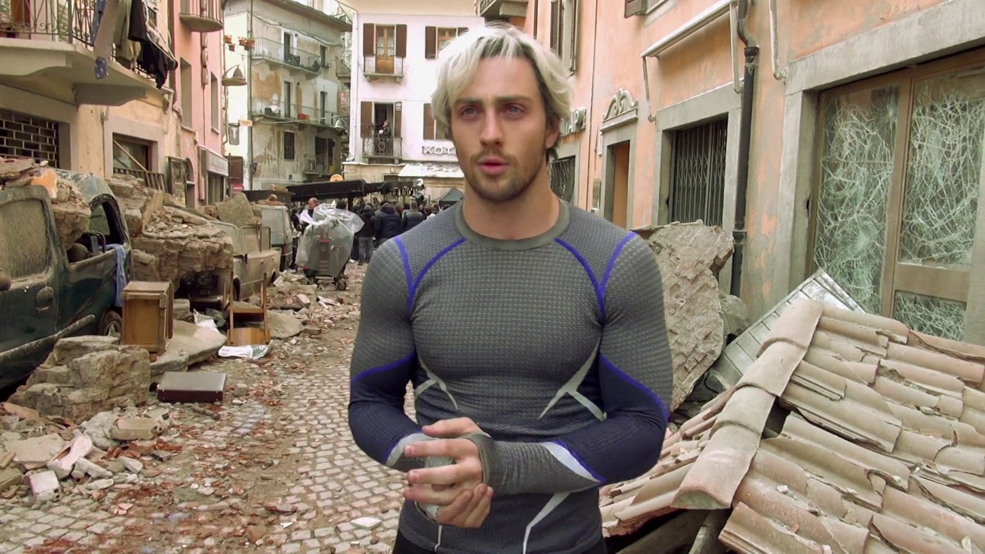Designing New Powers - Avengers: Age of Ultron Behind the Scenes