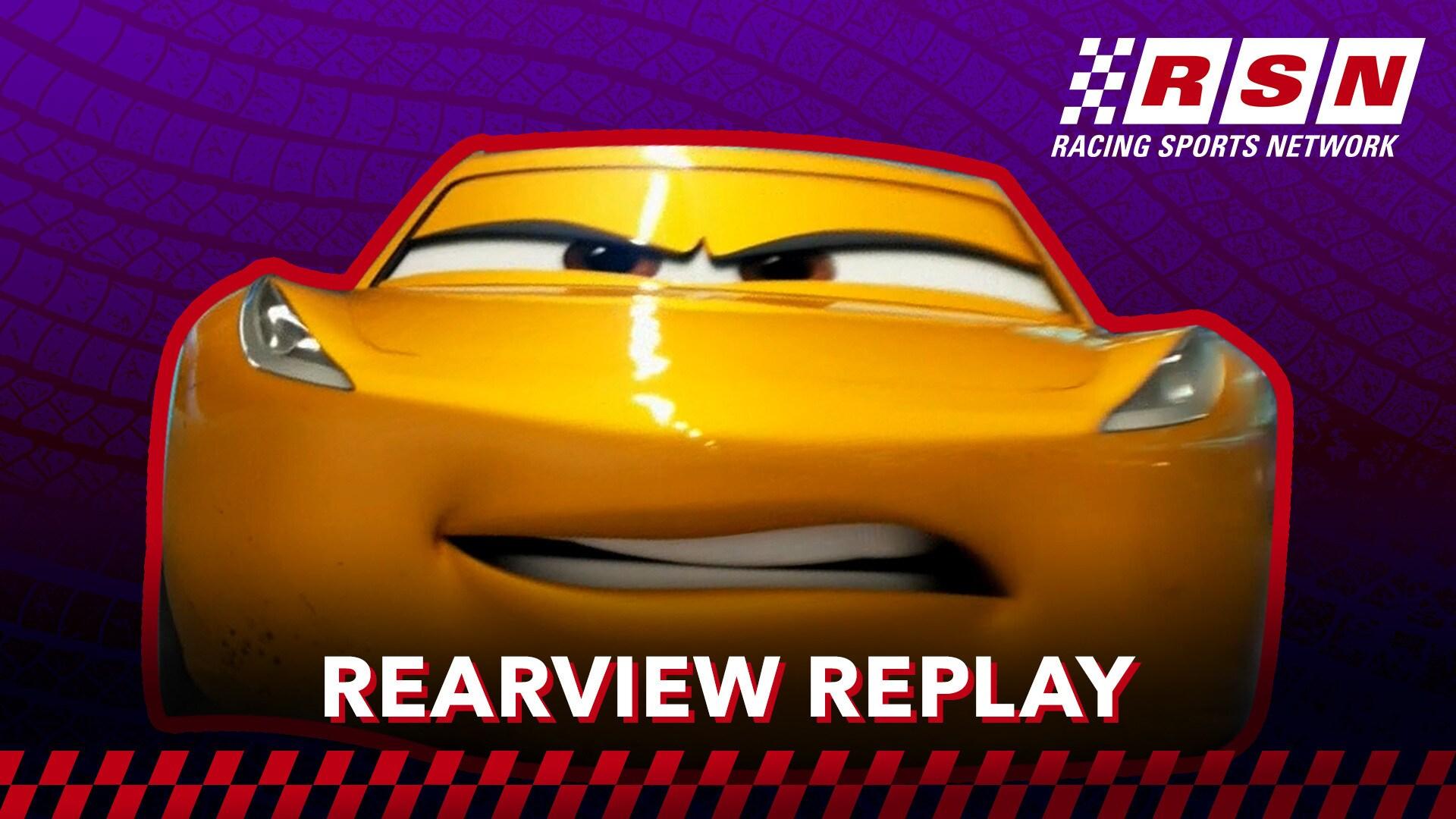 Rearview Replay: Cruz Ramirez's 360-Degree Flip | Racing Sports Network by Disney