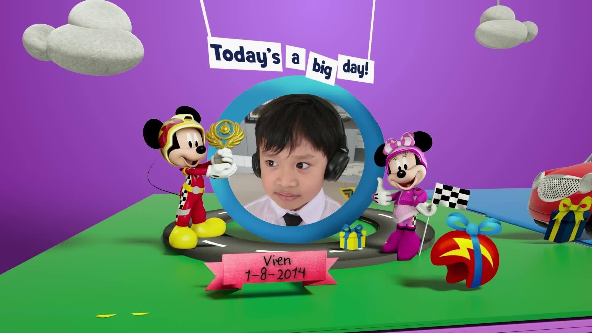 Disney Junior Birthday Book 2021 August Album 10