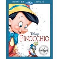 Image of Pinocchio Blu-ray Combo Pack # 1