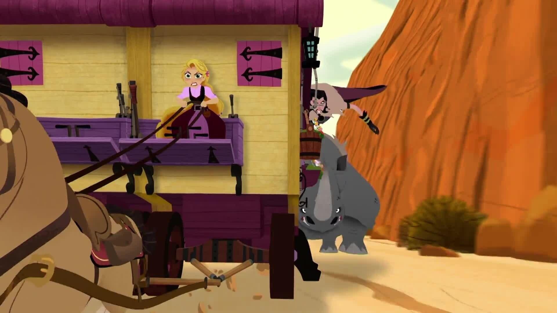 Rapunzel - Die Serie - Die Macht des Mondsteins - Teil 1