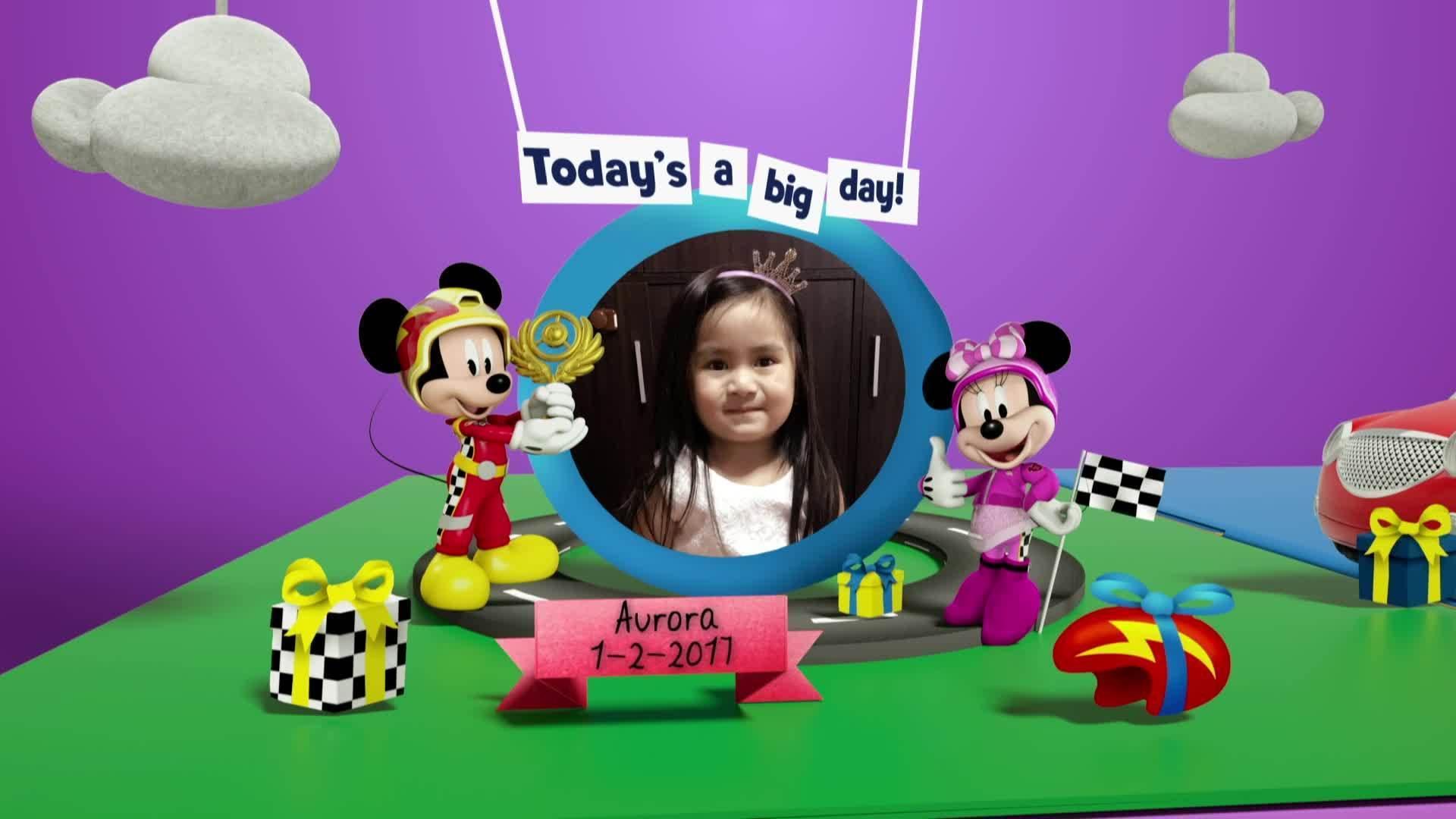 Disney Junior Birthday Book 2021 February Album 7