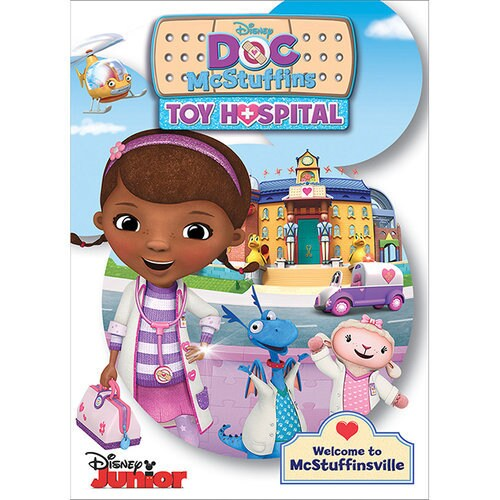 Disney The Doc Is In 4 Piece Doc Mcstuffins Toddler: Doc McStuffins Toy Hospital DVD