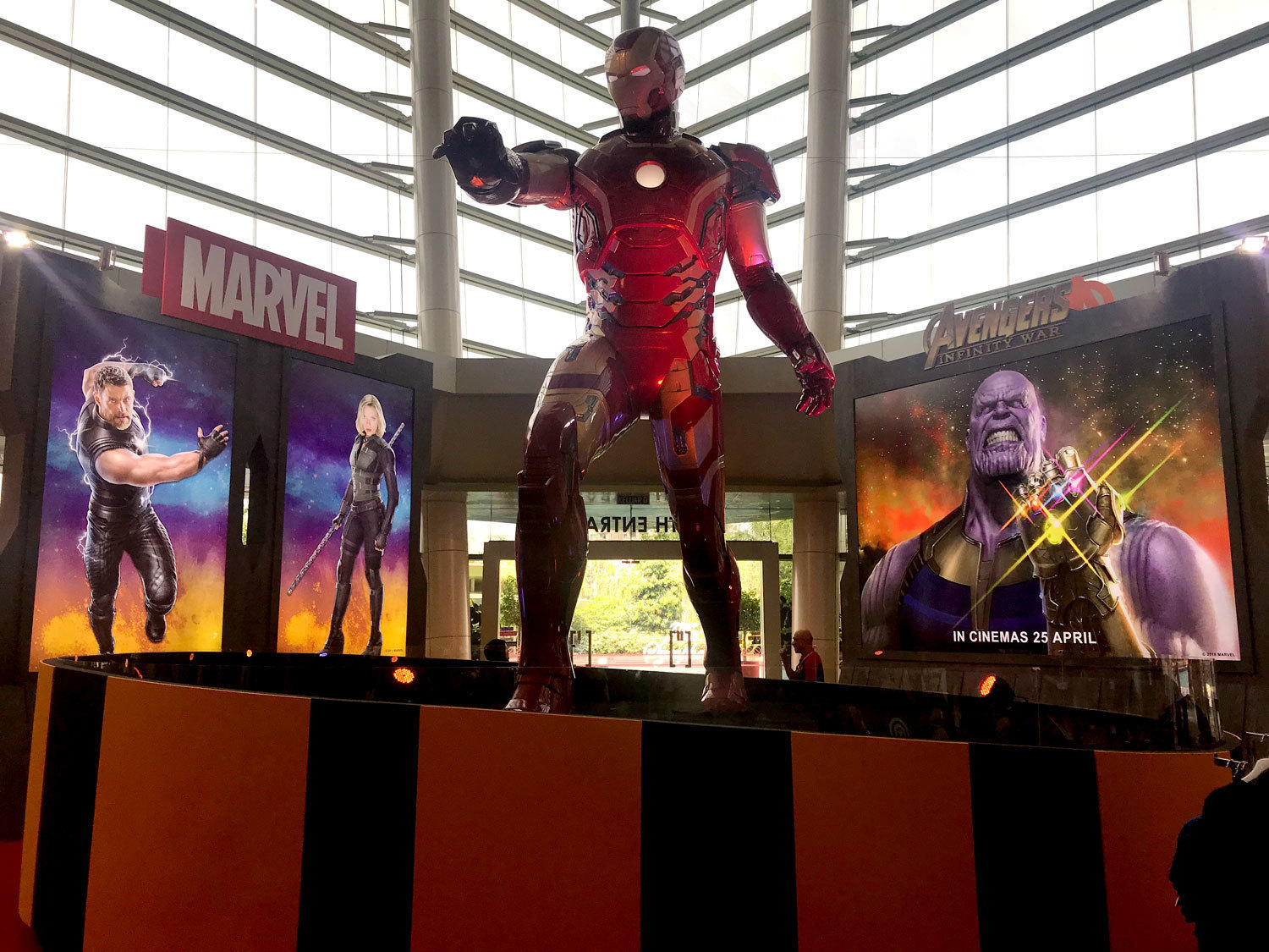 Avengers Infinity War Event in IOI City Mall
