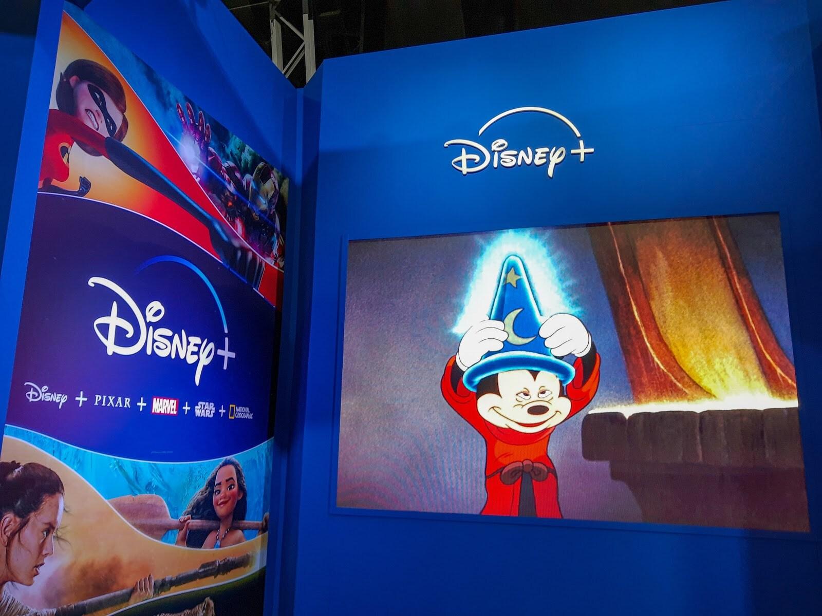 Disney Plus en Argentina Comic Con