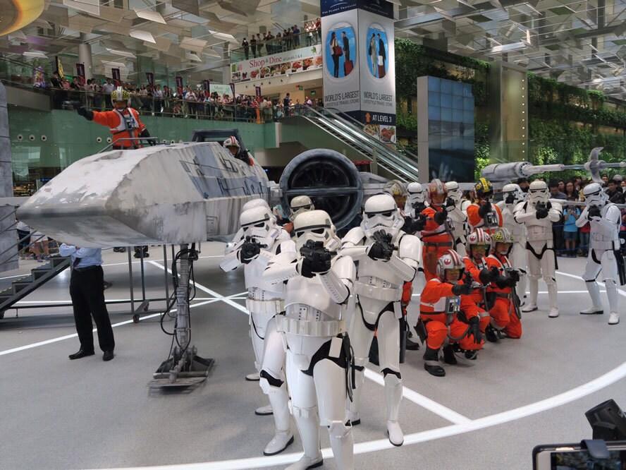 Star Wars ณ ท่าอากาศยานชางงี