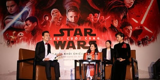 Star Wars: The Last Jedi Press Conference, Vietnam