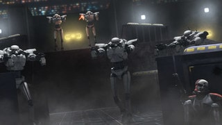 Imperial sentry droid