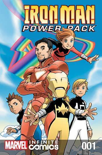 Iron Man and Power Pack #01