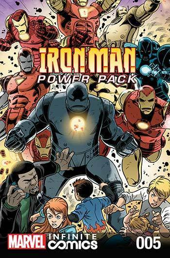 Iron Man and Power Pack #05