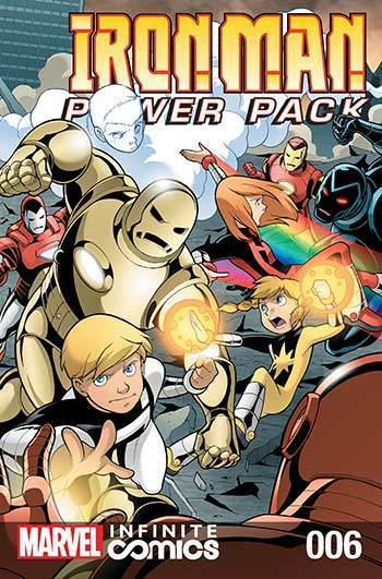 Iron Man and Power Pack #06