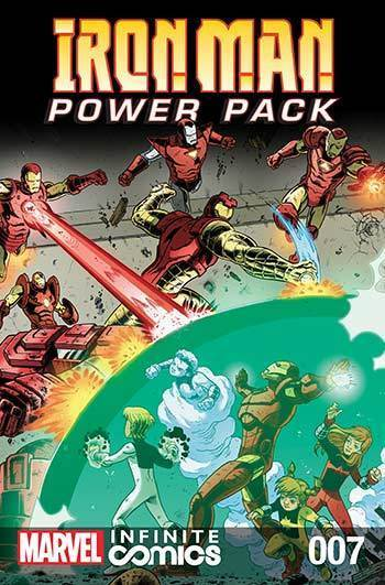 Iron Man and Power Pack #07