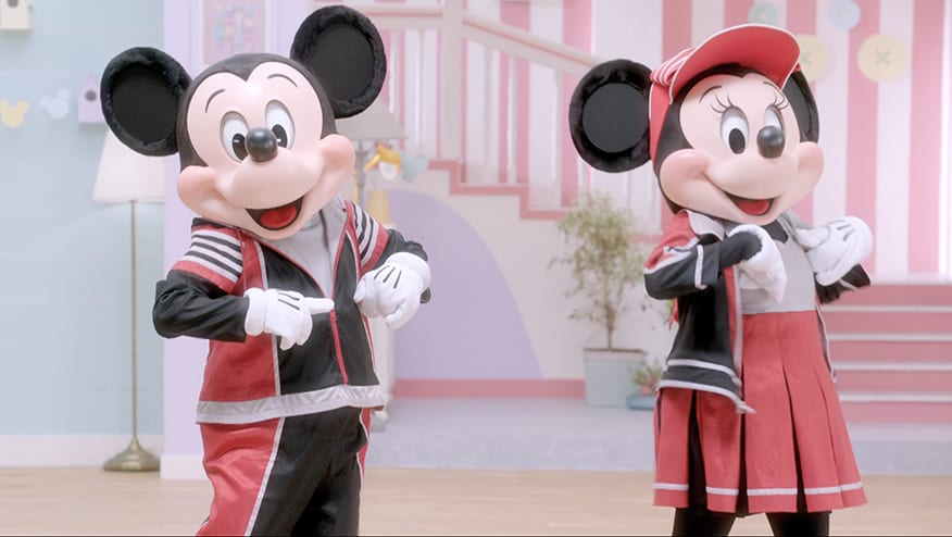 Stay Fit with Mickey and Minnie | Chicken Step