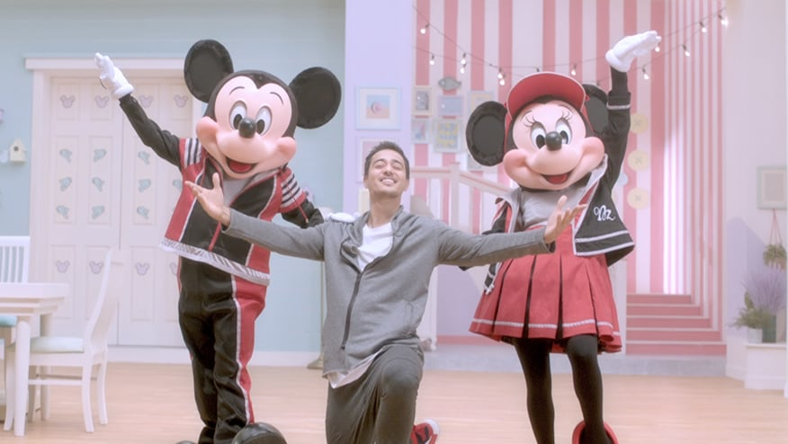 Stay Fit with Mickey and Minnie | Freestyle Groove