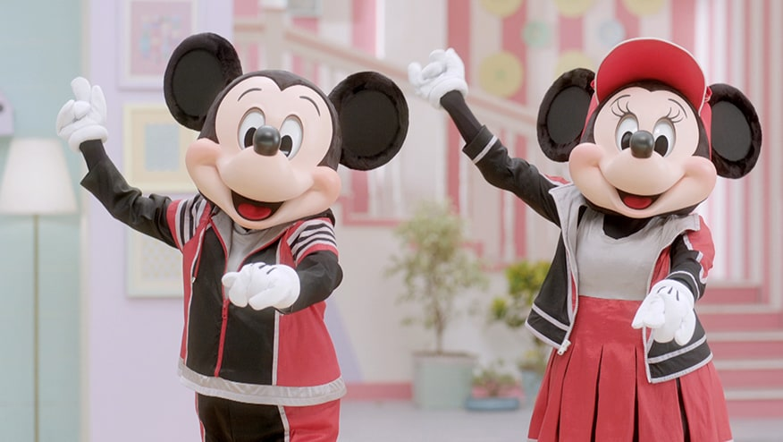 Stay Fit with Mickey and Minnie | Ghoda Chalao Step