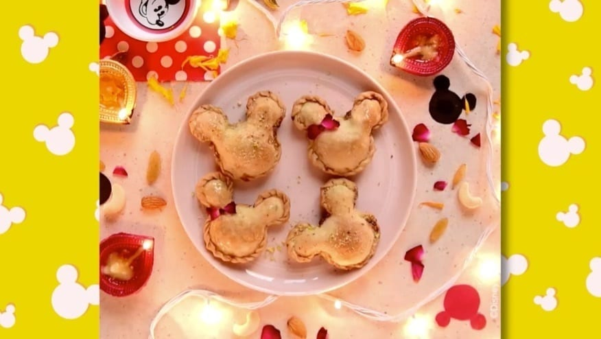Mickey Party Food | Mickey Gujiya