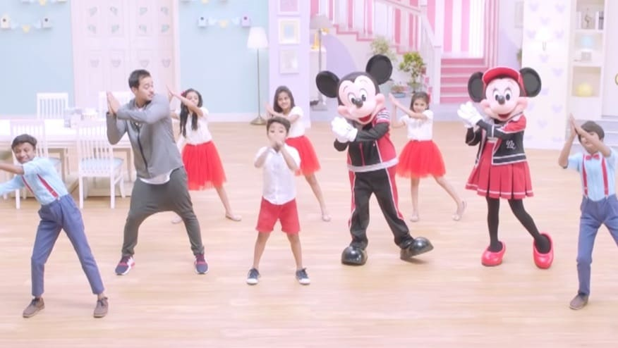 Stay Fit with Mickey and Minnie | Namaste Step