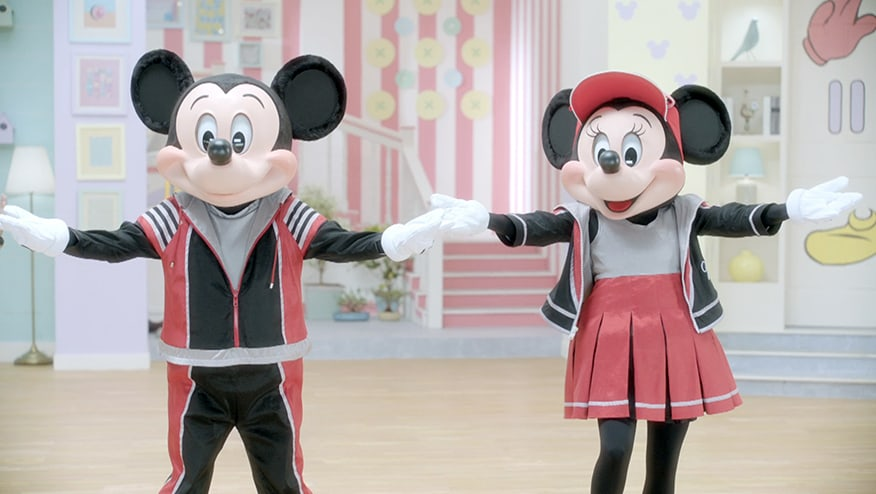 Stay Fit with Mickey and Minnie | Mickey and Minnie Step