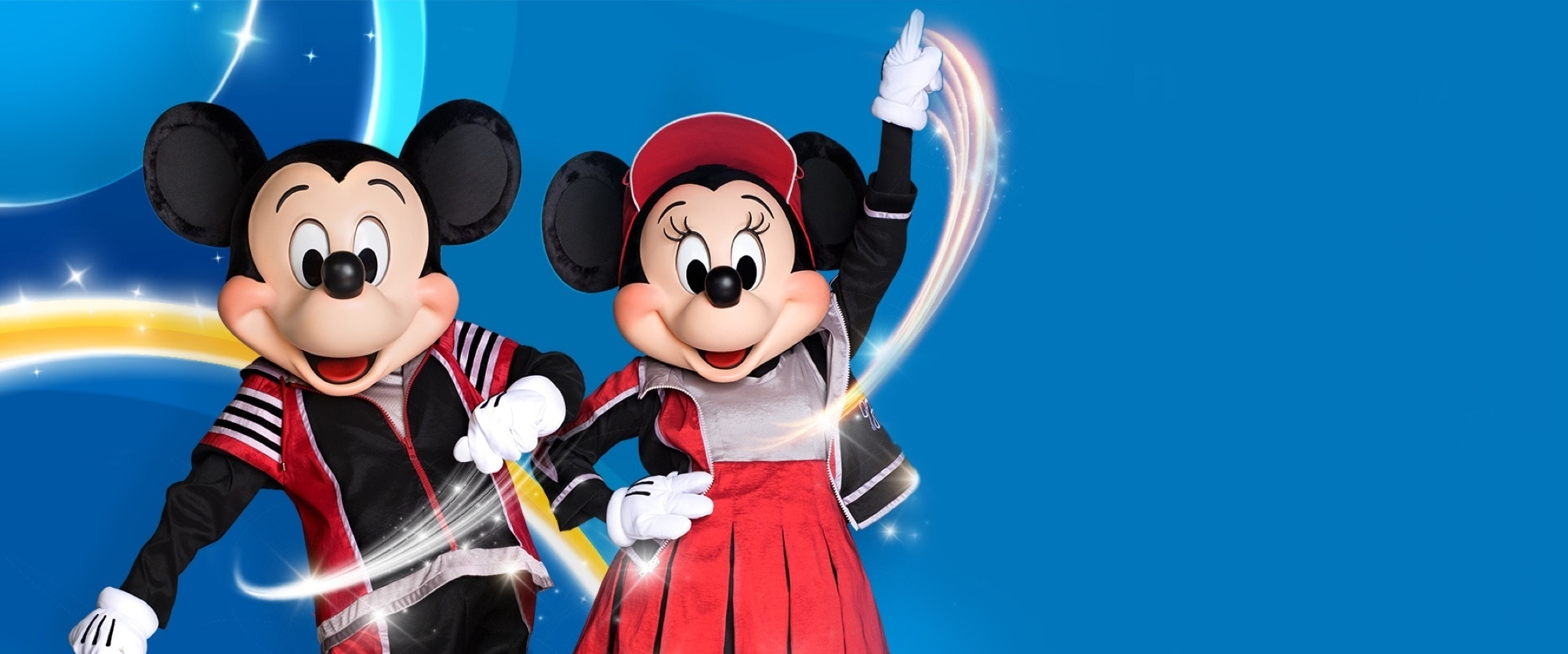 Stay Fit with Mickey and Minnie