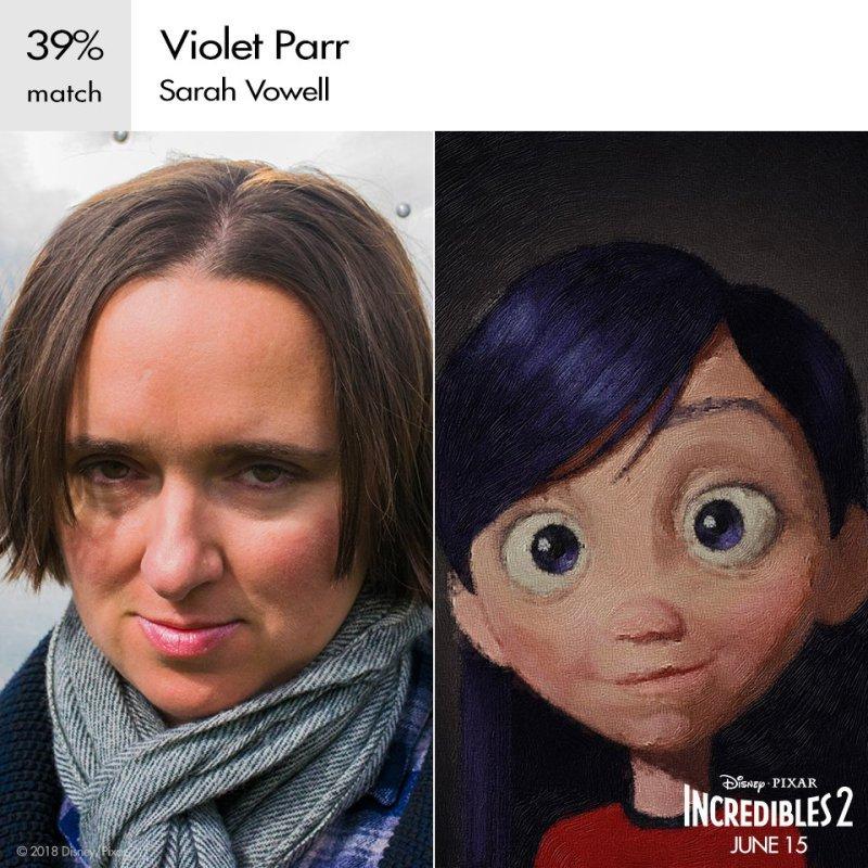 Sarah Vowell as Violet Parr