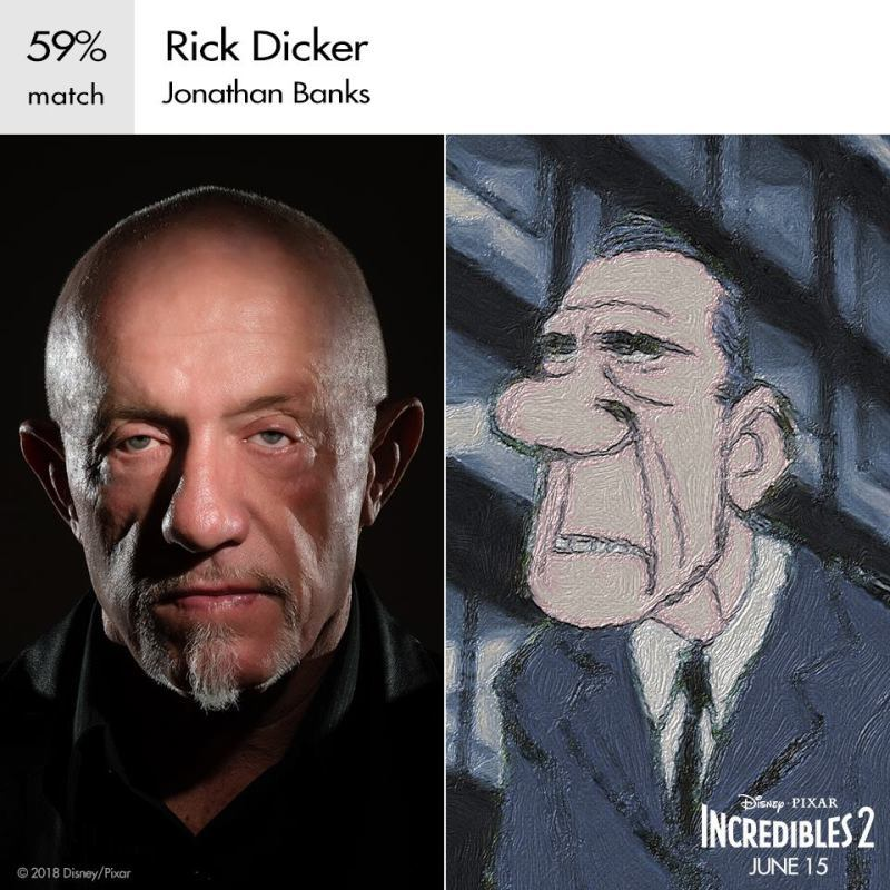 Jonathan banks as rick dicker