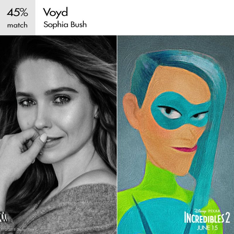 Sophia bush as voyd