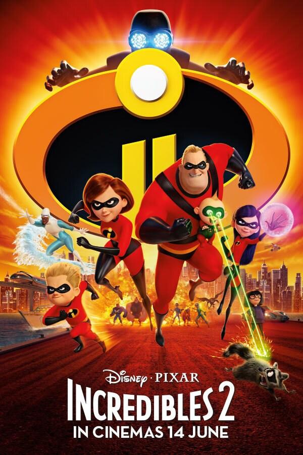 Disney.Pixar: The Incredibles 2
