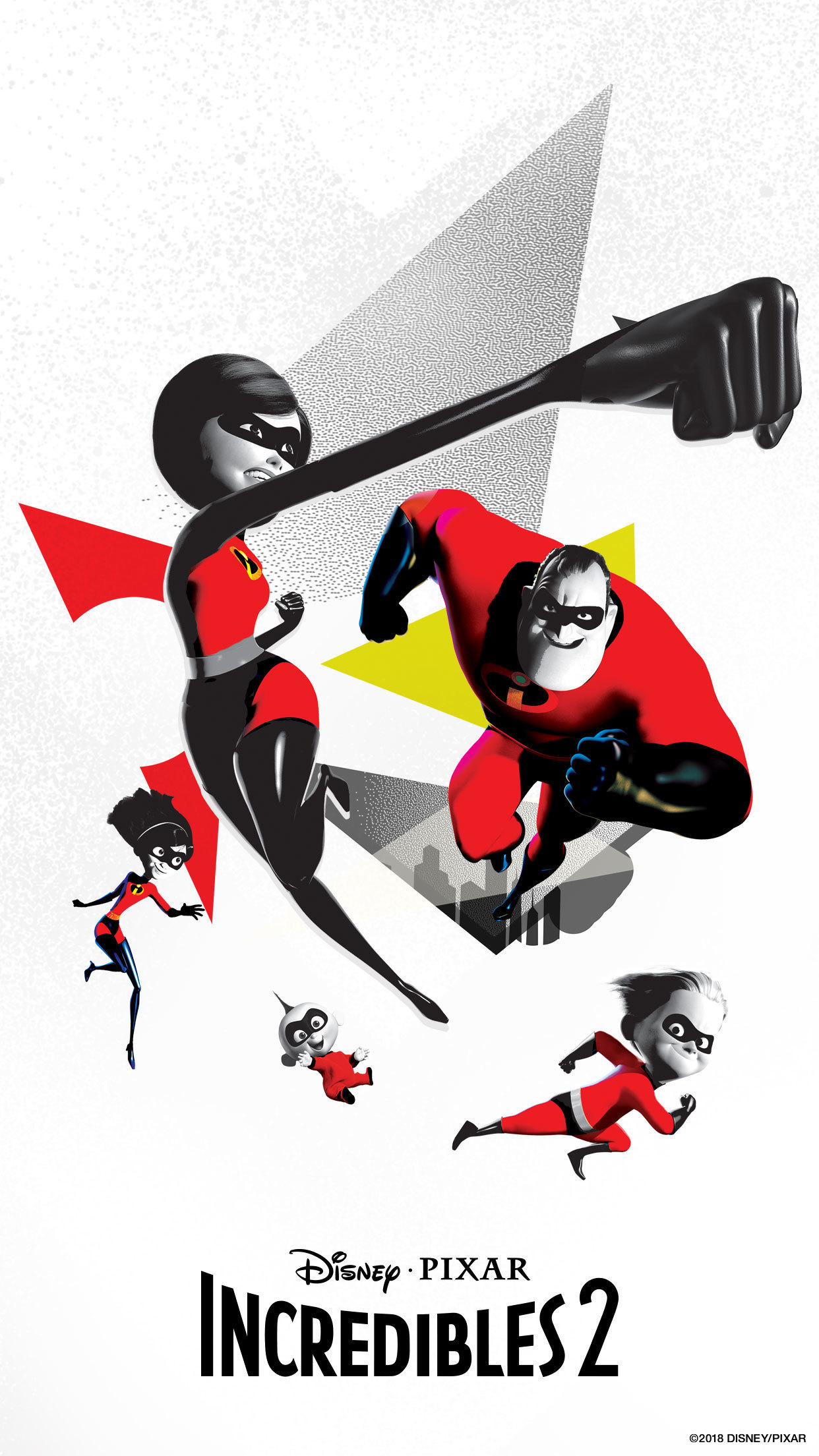 Incredibles 2 Mobile Wallpapers | Disney Movies | Indonesia