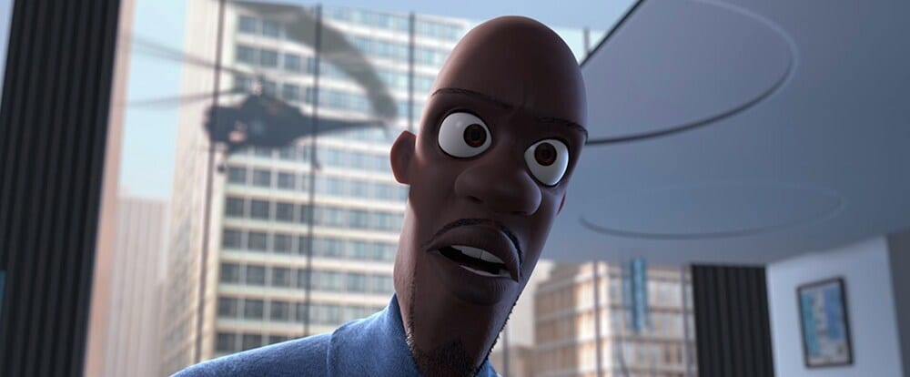 "Frozone from the animated movie ""The Incredibles"""