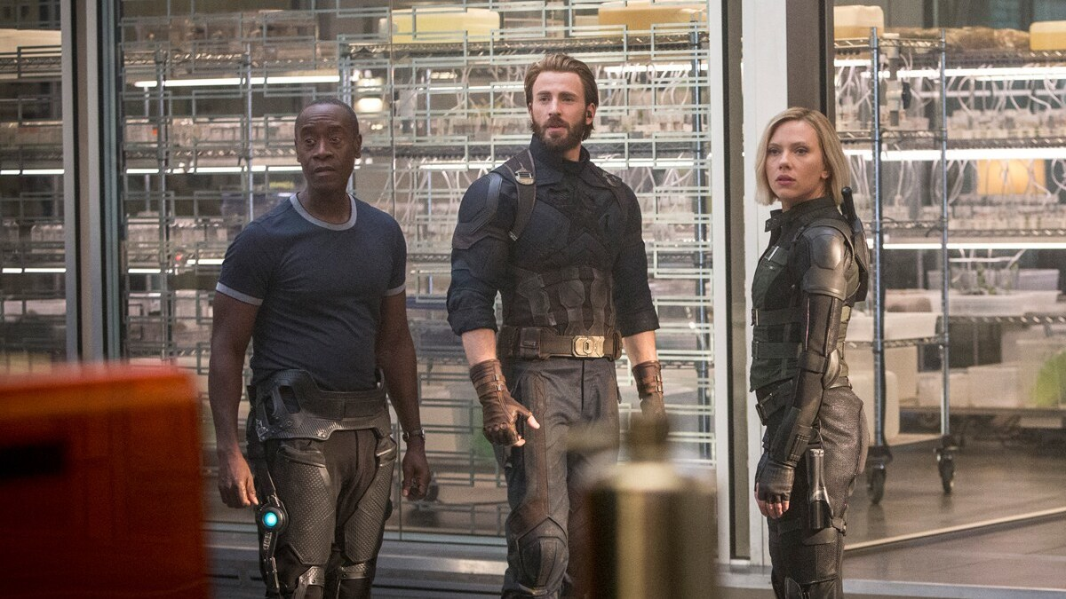 Read Our Interview With Scarlett Johansson and Chris Evans From the Set of Avengers: Infinity War