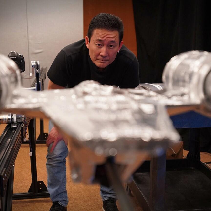 ILM Creating the Razor Crest still