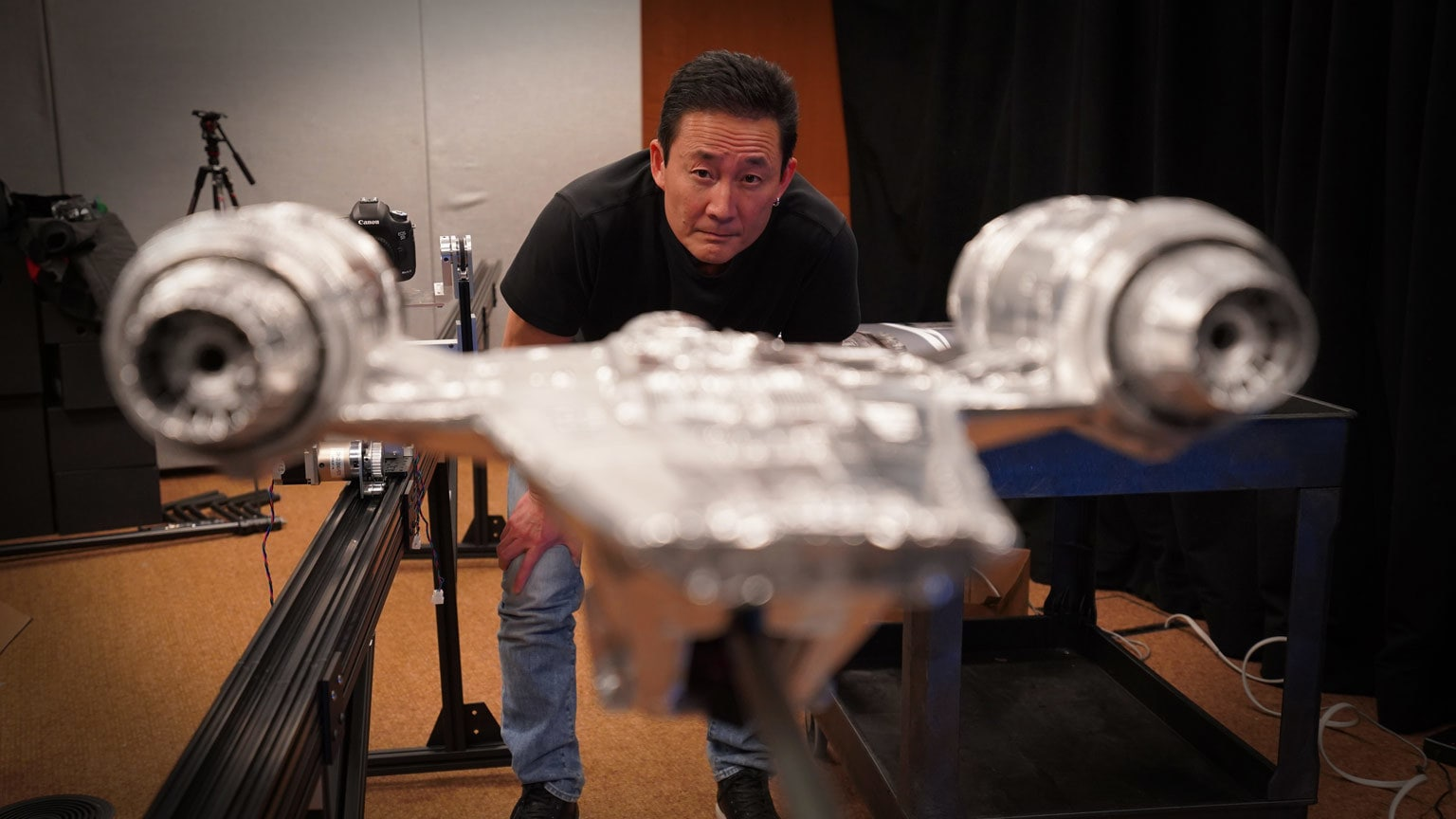 Inside ILM: Creating the Razor Crest Celebrates the Return of Modelmaking Magic to Star Wars