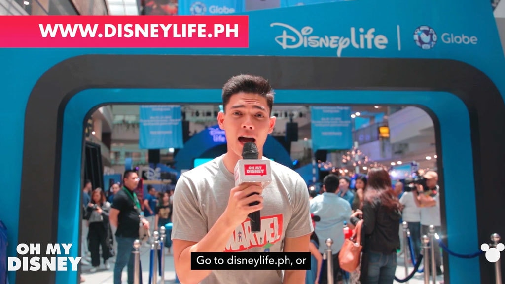 Disney Insider - DisneyLife launch with Globe in the Philippines