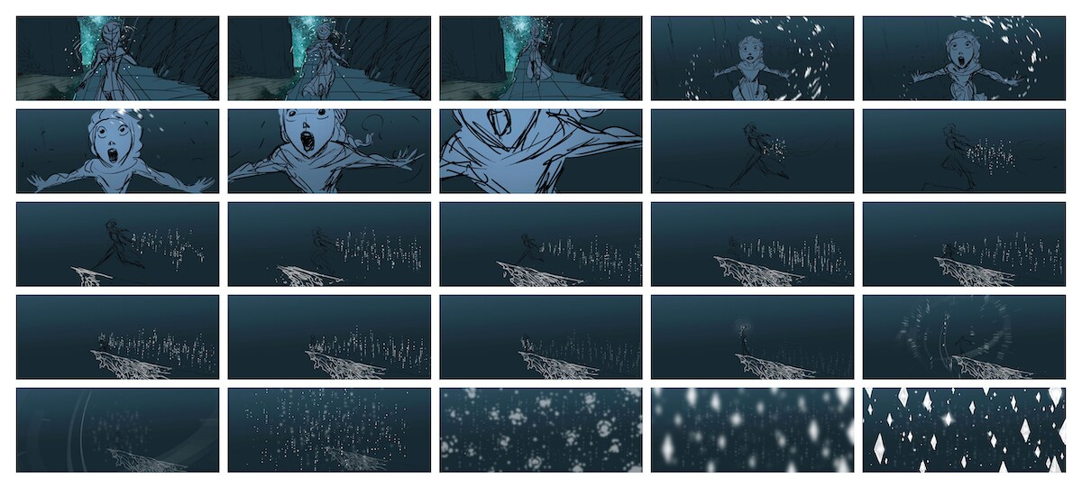 Frozen 2 Storyboard