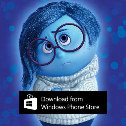 Inside Out Thought Bubbles - Windows Phone