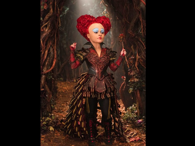 The Red Queen (Helena Bonham Carter) in Disney's Alice Through The Looking Glass