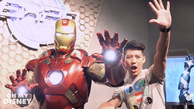 An Iron Man Experience in Hong Kong Disneyland | Disney Insider