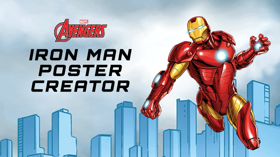 Create Your Own Iron-Man Poster