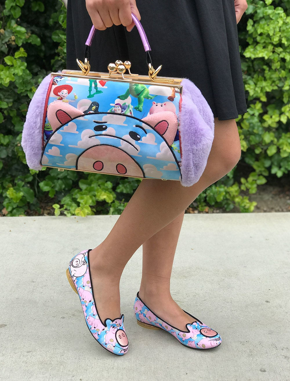 Hand bag and shoes from The Toy Story Irregular Choice Collection