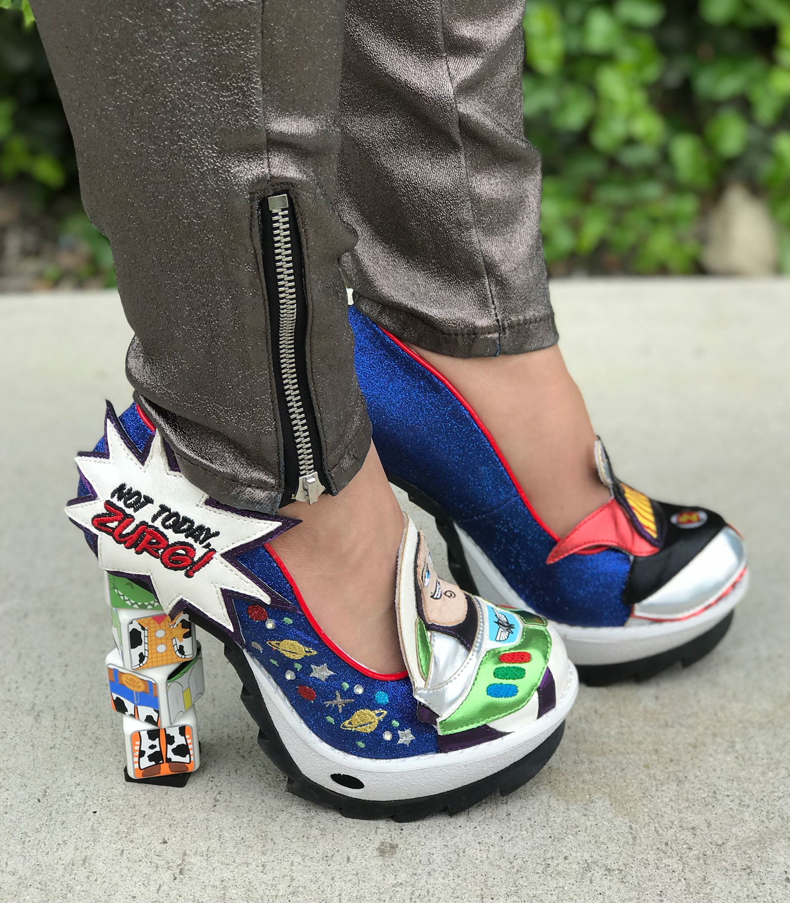 Shoes from The Toy Story Irregular Choice Collection