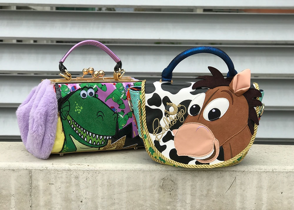 Hand bags from The Toy Story Irregular Choice Collection