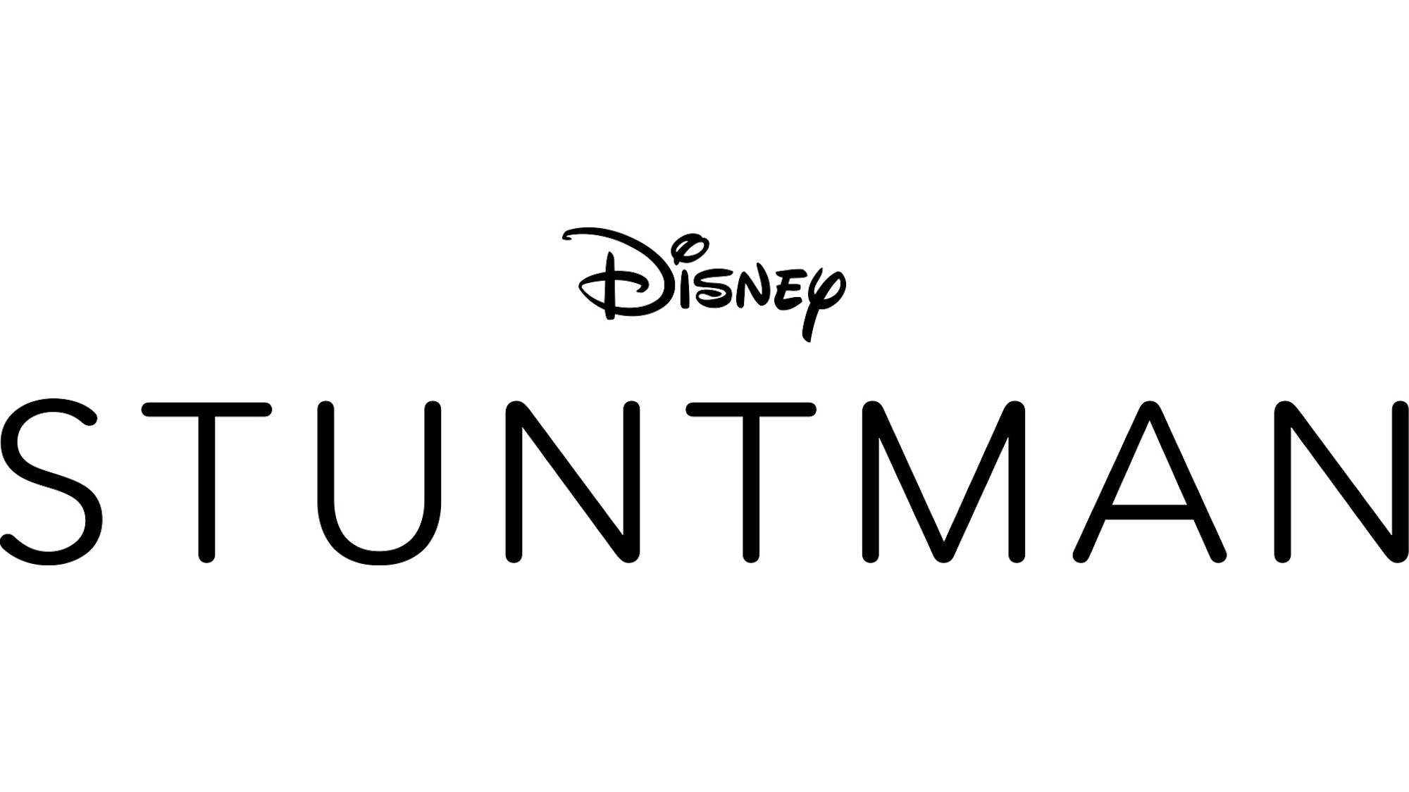 Stuntman Logo - Black