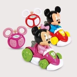 Veicolo radiocomandato Mickey e Minnie Clementoni