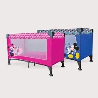 Lettino campeggio Mickey e Minnie Eurasia