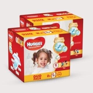 Fornitura per un anno pannolini Huggies