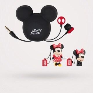 Cuffie e chiavetta USB  Mickey e Minnie Maikii