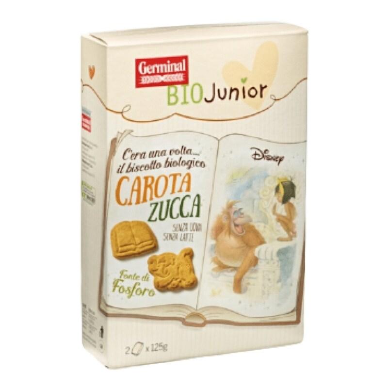 Biscotti Carota Zucca Germinal BioJunior & Disney