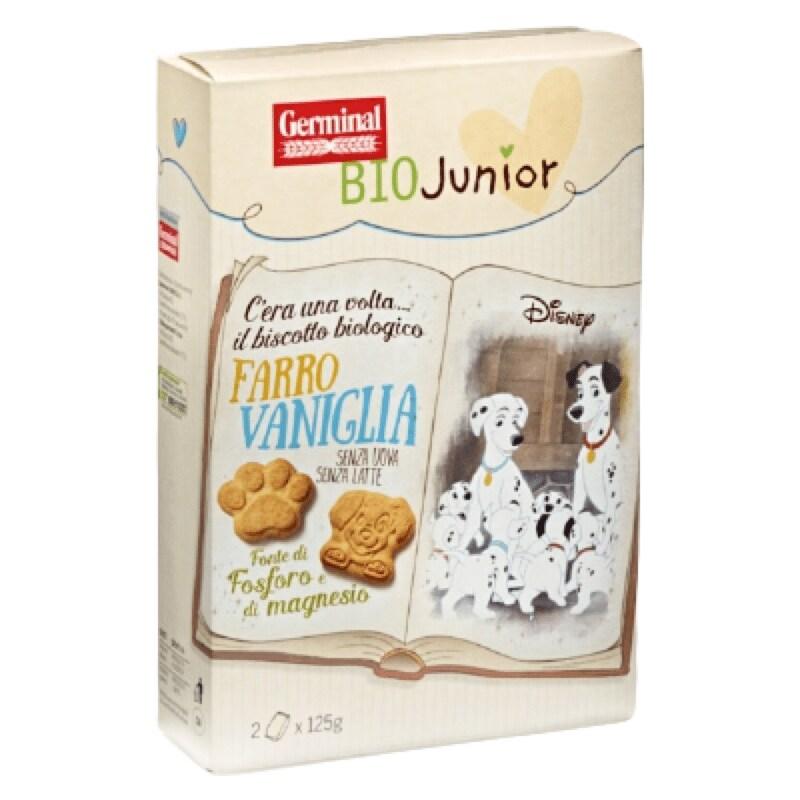 Biscotti Farro Vaniglia Germinal BioJunior & Disney
